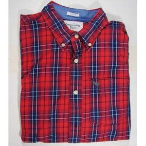 Abercrombie Men's Shirt Muscle Fit  Cotton XL